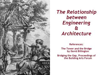 The Relationship  between  Engineering & Architecture