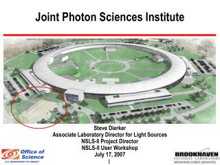 Joint Photon Sciences Institute