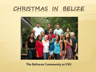 Christmas  in  Belize
