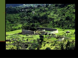 Migration of the Bantus & Great Zimbabwe