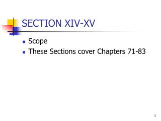 SECTION XIV-XV