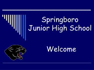Springboro  Junior High School