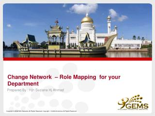 Change Network  – Role Mapping  for your Department