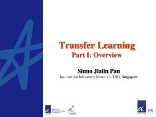 Transfer Learning Part I: Overview