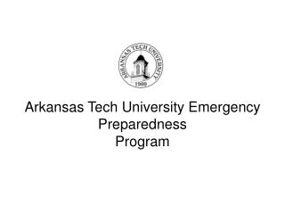 Arkansas Tech University Emergency Preparedness Program