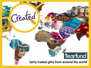 fairly traded gifts from around the world