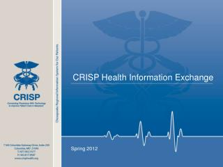 CRISP  Health Information  Exchange