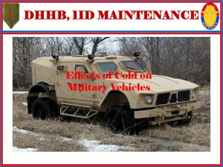 DHHB, 1ID MAINTENANCE