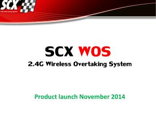 2.4 G  Wireless Overtaking System Product launch November 2014