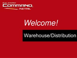 Warehouse/Distribution