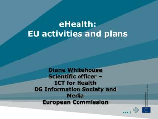 eHealth: EU activities and plans