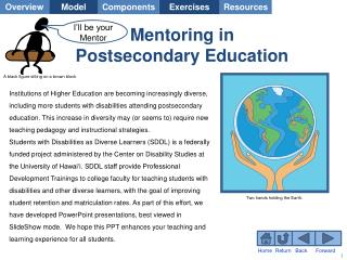 Mentoring in Postsecondary Education
