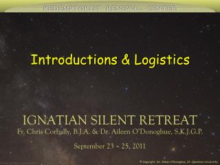 Introductions & Logistics