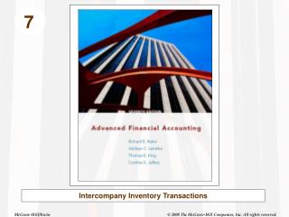 Intercompany Inventory Transactions