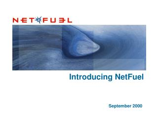 Introducing NetFuel