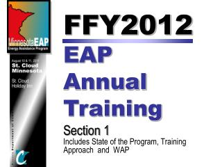 FFY2012  EAP  Annual  Training Section 1