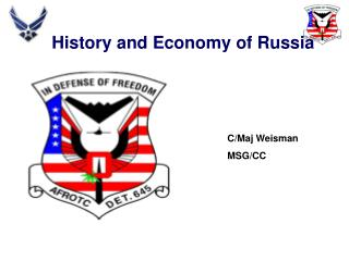 History and Economy of Russia