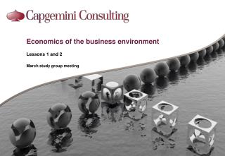 Economics of the business environment