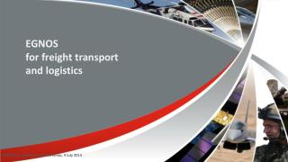 EGNOS  for freight transport  and logistics