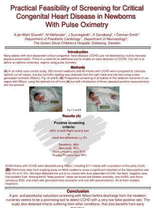 Practical Feasibility of Screening for Critical Congenital Heart Disease in Newborns