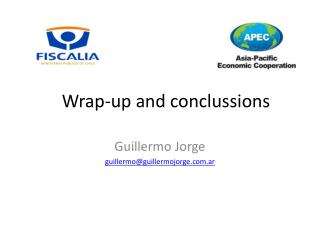 Wrap-up and conclussions