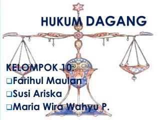 Hukum Dagang UNIKAMA