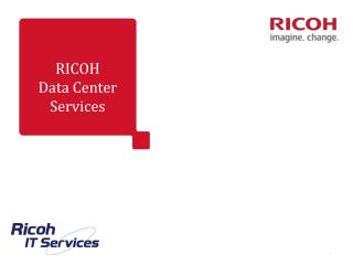 RICOH Data Center Services