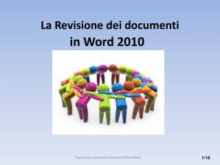 La Revisione  dei documenti