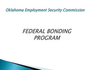 Oklahom a Employment Security Commission