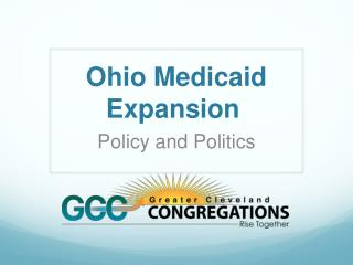 Ohio Medicaid Expansion