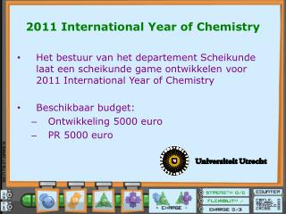 2011 International Year of Chemistry