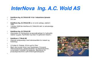 InterNova Ing. A.C. Wold AS