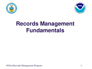 Records Management Fundamentals