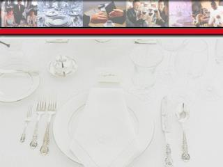 The Need for Formal Dining Etiquette