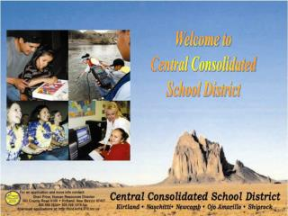 Welcome to Central Consolidated School District