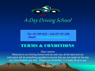 A-Day Driving School