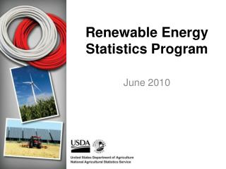 Renewable Energy Statistics Program