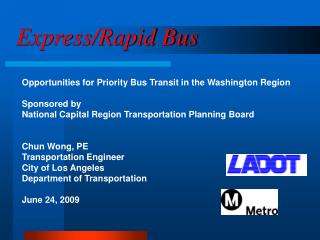 Express/Rapid Bus