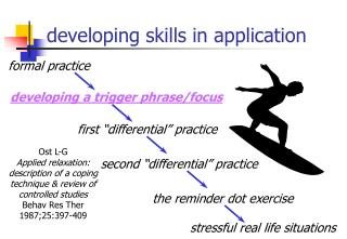 developing skills in application