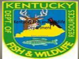 Kentucky Fish and Wildlife Department
