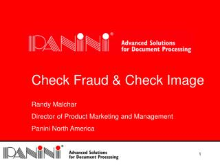 Check Fraud & Check Image