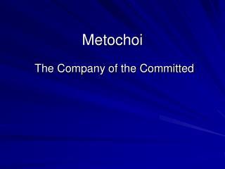 Metochoi