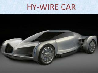 HY-WIRE CAR