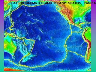 PLATE BOUNDARIES AND ISLAND CHAINS, PACIFIC BASIN