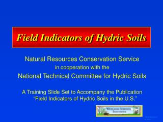 Field Indicators of Hydric Soils