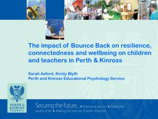 Protective processes and resources that promote resilience and wellbeing