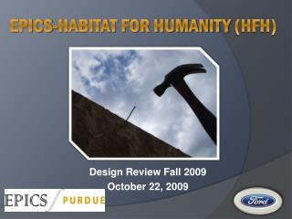 EPICS-Habitat for humanity  (HFH)