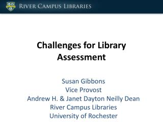 Challenges for Library Assessment