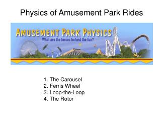 Physics of Amusement Park Rides