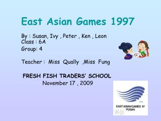 East Asian Games 1997